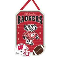 Team Sports America Wisconsin Badgers Door Decor from Blain's Farm and Fleet
