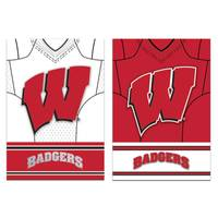 Team Sports America Wisconsin Badgers House Flag from Blain's Farm and Fleet
