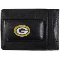 Siskiyou Green Bay Packers Leather Cash & Card Holder from Blain's Farm and Fleet
