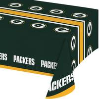 Creative Converting Green Bay Packers Plastic Banquet Table Cover from Blain's Farm and Fleet