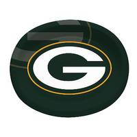 Creative Converting Green Bay Packers Paper Oval Platters from Blain's Farm and Fleet