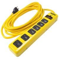 Woods Yellow Jacket 6-Outlet Metal Surge Protector from Blain's Farm and Fleet