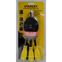 Stanley 3-Outlet Flexible Adapter with 2 USB Ports from Blain's Farm and Fleet