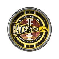 The Memory Company Iowa Chrome Clock from Blain's Farm and Fleet