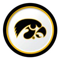 Creative Converting Iowa Hawkeyes Paper Dinner Plates from Blain's Farm and Fleet