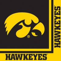 Creative Converting Iowa Hawkeyes Luncheon Napkins from Blain's Farm and Fleet