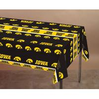 Creative Converting Iowa Hawkeyes Plastic Banquet Table Cover from Blain's Farm and Fleet