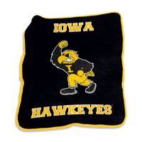 Logo Chairs Iowa Hawkeyes Mascot Throw from Blain's Farm and Fleet