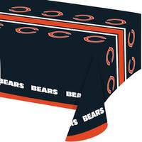 Creative Converting All Over Print Chicago Bears Plastic Banquet Table Cover from Blain's Farm and Fleet