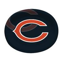 Creative Converting Chicago Bears Paper Oval Platters from Blain's Farm and Fleet