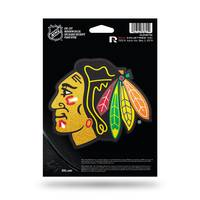 NHL Chicago Blackhawks Bling Medium Die-Cut Window Decal from Blain's Farm and Fleet