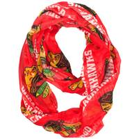Little Earth Chicago Blackhawks Sheer Infinity Scarf from Blain's Farm and Fleet