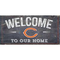 Fan Creations Chicago Bears Distressed Welcome Sign from Blain's Farm and Fleet