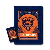 Pro Specialities Group Chicago Bears Tin Sign & Magnet Set from Blain's Farm and Fleet