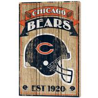 WinCraft Chicago Bears Wood Sign from Blain's Farm and Fleet