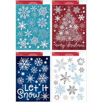 Impact Innovations Snowflake Cling Assortment from Blain's Farm and Fleet
