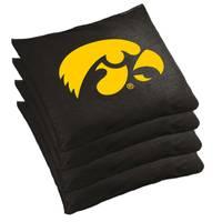 Wild Sports Iowa Hawkeyes Regulation Cornhole Bean Bag Set from Blain's Farm and Fleet