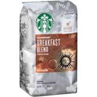 Starbucks Medium Breakfast Blend Coffee from Blain's Farm and Fleet
