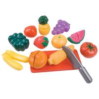 Slice-A-Rific Fruits & Vegetables Play Set from Blain's Farm and Fleet
