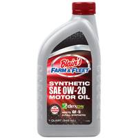 Blain's Farm & Fleet Full Synthetic SAE 0W-20 Motor Oil from Blain's Farm and Fleet