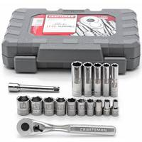 Craftsman 17-Piece Socket Set 1/4 Metric from Blain's Farm and Fleet