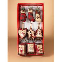 Gerson International Plush Holiday Ornament Assortment from Blain's Farm and Fleet