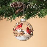 Gerson International Glass Cardinal Ornament from Blain's Farm and Fleet