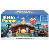 Fisher-Price Little People Deluxe A Christmas Story Set from Blain's Farm and Fleet