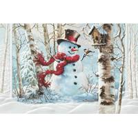 Pumpernickel Press Birchwood Snowman Christmas Cards from Blain's Farm and Fleet
