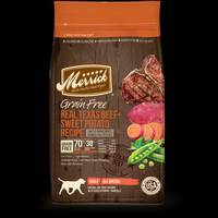 Merrick 4 lb Grain Free Texas Beef & Sweet Potato Dog Food from Blain's Farm and Fleet