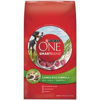 Purina One Smartblend Lamb & Rice Formula Adult Premium Dog Food from Blain's Farm and Fleet