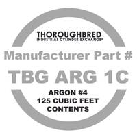Thoroughbred #4 Argon 125 CF Contents Only from Blain's Farm and Fleet