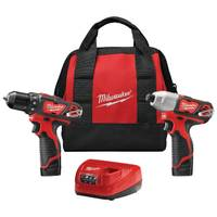 Milwaukee M12 Cordless Combo Drill Kit from Blain's Farm and Fleet