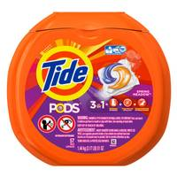 Tide Pods Spring Meadow Laundry Detergent Pacs from Blain's Farm and Fleet