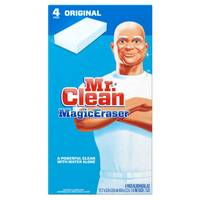 Mr. Clean Magic Eraser Cleansing Pad - 4 Pack from Blain's Farm and Fleet