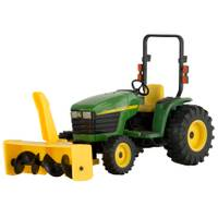 John Deere 1:16 4310 Tractor with Snowthrower from Blain's Farm and Fleet