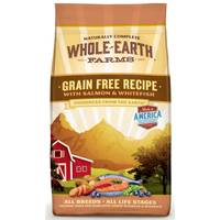 Whole Earth Farms 4 lb Grain Free Salmon & Whitefish Dog Food from Blain's Farm and Fleet