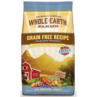 Whole Earth Farms 4 lb Grain Free Healthy Weight Chicken Recipe Dog Food from Blain's Farm and Fleet