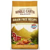 Whole Earth Farms 4 lb Grain Free Chicken & Turkey Dog Food from Blain's Farm and Fleet