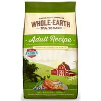 Whole Earth Farms 25 lb Adult Recipe Dry Dog Food from Blain's Farm and Fleet