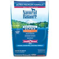 Natural Balance Original Ultra Whole Body Health Chicken & Duck Small Breed Bites Dog Food from Blain's Farm and Fleet