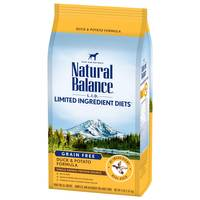 Natural Balance L.I.D. Potato & Duck Dry Dog Food from Blain's Farm and Fleet