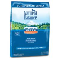 Natural Balance Original Ultra Whole Body Health Chicken & Duck Dry Dog Food from Blain's Farm and Fleet