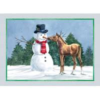 LPG Greetings Friendly Foal Holiday Value Cards from Blain's Farm and Fleet