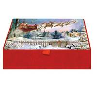 LPG Greetings Here Comes Santa Glitter Keepsake Box from Blain's Farm and Fleet