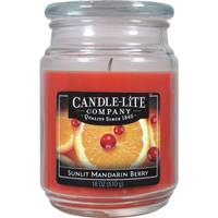 Candle-Lite Sunlit Mandarin Berry Jar Candle from Blain's Farm and Fleet