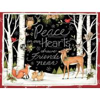 Lang Peace In Our Hearts Boxed Christmas Cards from Blain's Farm and Fleet