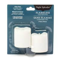 Northern International 2-Pack Plastic White Votives with 5-Hour Timer from Blain's Farm and Fleet