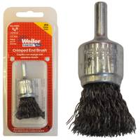 Weiler Crimped Wire End Brush from Blain's Farm and Fleet