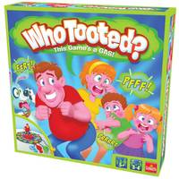 Goliath Games Who Tooted? Board Game from Blain's Farm and Fleet